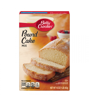 Betty Crocker Pound Cake Mix - 16oz (1LB) (453g) Food and Groceries Betty Crocker