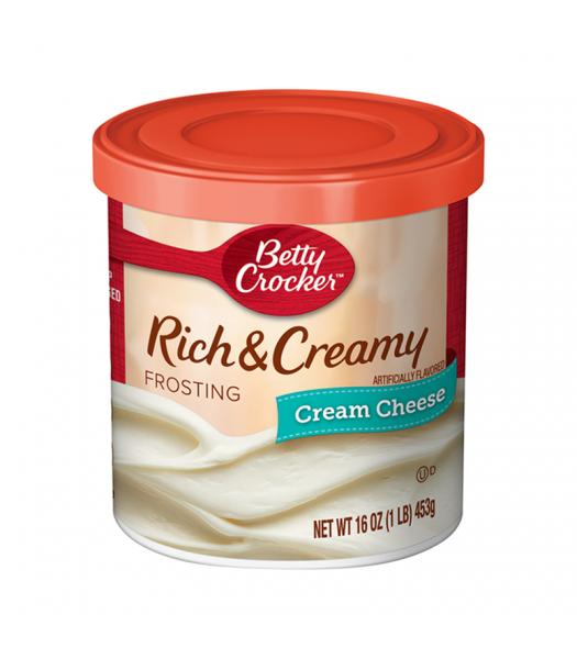 Betty Crocker Rich & Creamy Cream Cheese Frosting - 16oz (1LB) (453g) Food and Groceries Betty Crocker