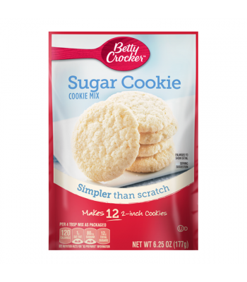Betty Crocker Snack Size Sugar Cookie Mix - 6.25oz (177g) Food and Groceries Betty Crocker