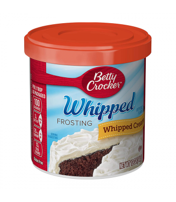 Clearance Special - Betty Crocker Whipped Cream Frosting - 12oz (340g) **Best Before: 25 May 21** Clearance Zone