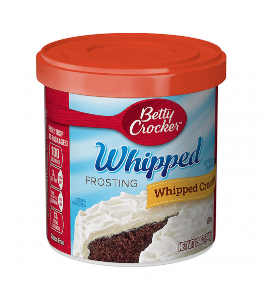 Betty Crocker Whipped Cream Frosting - 12oz (340g) Food and Groceries Betty Crocker