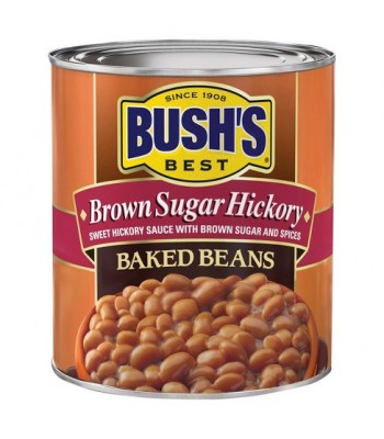 Bush's Best Brown Sugar Hickory Baked Beans 16oz (454g) Tinned Groceries Bush's Beans