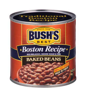 Bush Baked Beans Boston Recipe 16oz (454g) Tinned Groceries Bush's Baked Beans