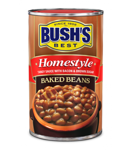 Bush's Best Homestyle Baked Beans 28oz (794g) Tinned Groceries Bush's Beans