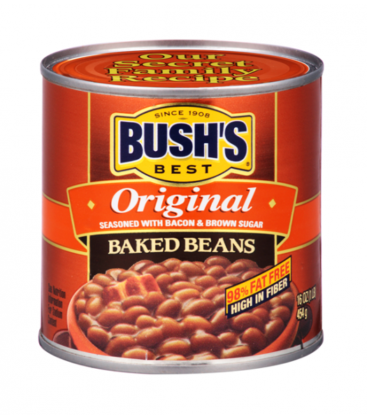 Bush's Best Original Baked Beans 16oz (454g)  Tinned Groceries Bush's Beans