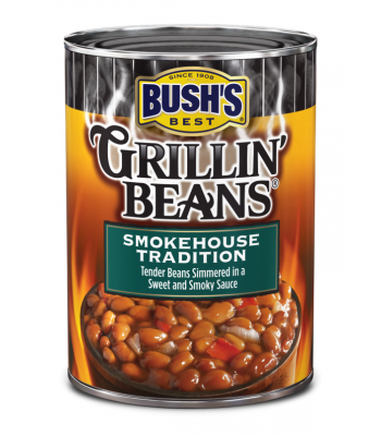 Bush's Best Grillin' Beans Smokehouse Tradition 22oz (624g) Tinned Groceries Bush's Baked Beans