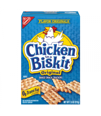 Nabisco Chicken In a Biskit 7.5oz (213g) Crackers Nabisco