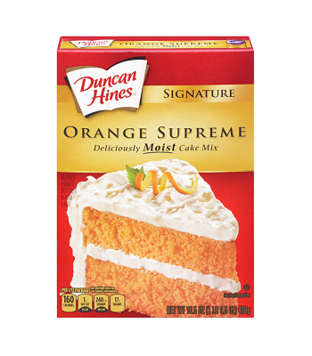 Duncan Hines Signature Orange Supreme Cake Mix 16.5oz (468g) Baking & Cooking Duncan Hines
