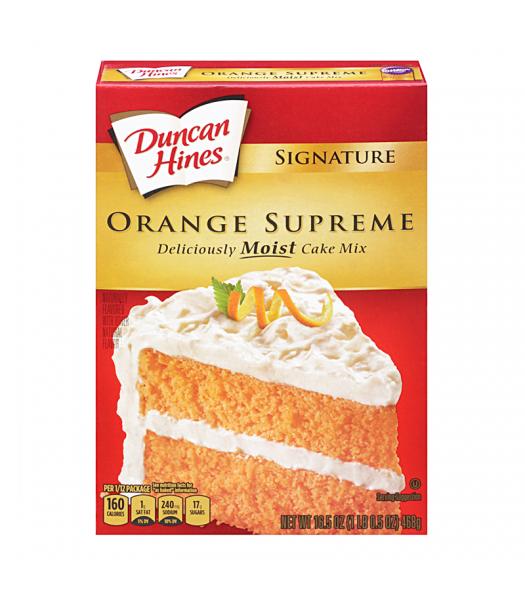 Duncan Hines Signature Orange Supreme Cake Mix 15.25oz (432g) Food and Groceries Duncan Hines