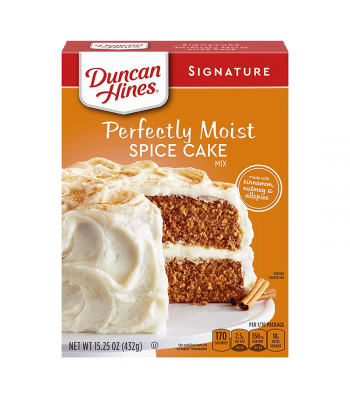 Duncan Hines Signature Perfectly Moist Spice Cake Mix - 15.25oz (432g) Food and Groceries Duncan Hines