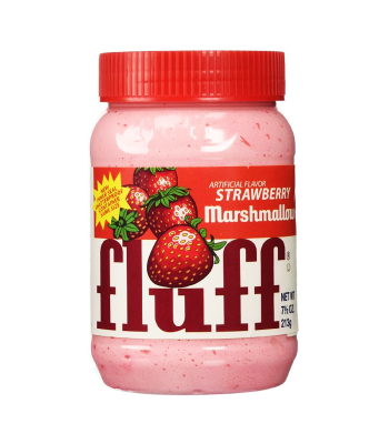 Fluff Marshmallow Strawberry 7.5oz (213g) Food and Groceries Fluff