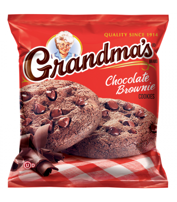 Grandmas Cookies Chocolate Brownie - 2.5oz (71g) Cookies & Biscuits Grandma's Cookies