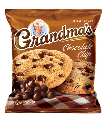 Grandmas Cookies Chocolate Chip - 2.5oz (71g) Cookies & Biscuits Grandma's Cookies