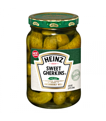 Heinz Sweet Gherkins 16fl.oz (473ml) Pickles Heinz