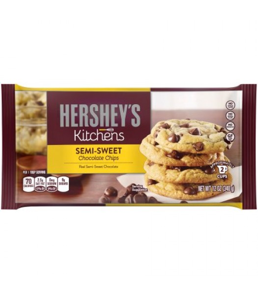 Hershey's Semi Sweet Chocolate Chips 12oz (340g) Cookies & Biscuits Hershey's