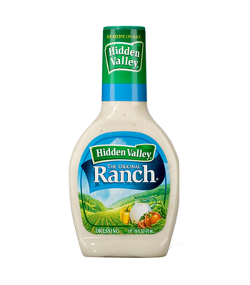 Hidden Valley Original Ranch Dressing 16oz (473ml) Sauces & Condiments