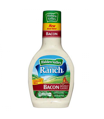 Hidden Valley Original Ranch Bacon Dressing 16oz (473ml) Sauces & Condiments