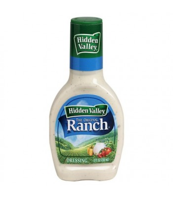 Hidden Valley Original Ranch Dressing 8fl.oz (236ml) Sauces & Condiments