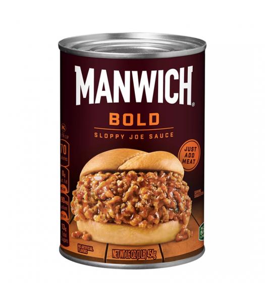 Hunts Manwich Bold Sloppy Joe Sauce - 16oz (454g) Food and Groceries Hunt's