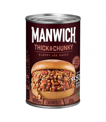 Hunt's Manwich Thick and Chunky Sloppy Joe Sauce 15.5oz (439g) Sauces & Condiments Hunt's