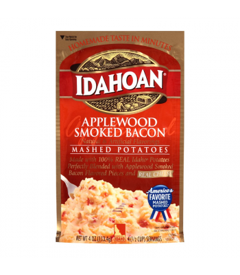 Idahoan Applewood Smoked Bacon Mashed Potatoes - 4oz (113.4g) Food and Groceries