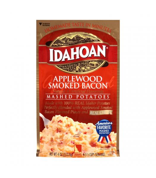 Idahoan Applewood Smoked Bacon Mashed Potatoes - 4oz (113.4g) Food and Groceries