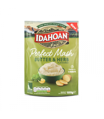 Idahoan Perfect Mash - Butter & Herb (109g)