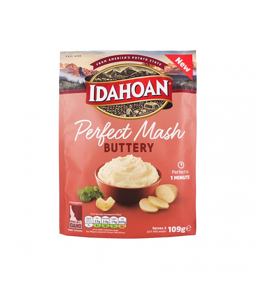 Idahoan Perfect Mash - Buttery (109g) Food and Groceries