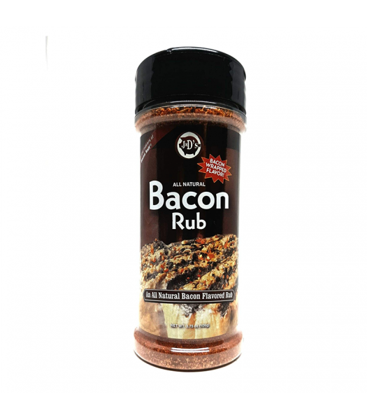 J&D's Bacon Rub - 3.75oz (106g) Food and Groceries