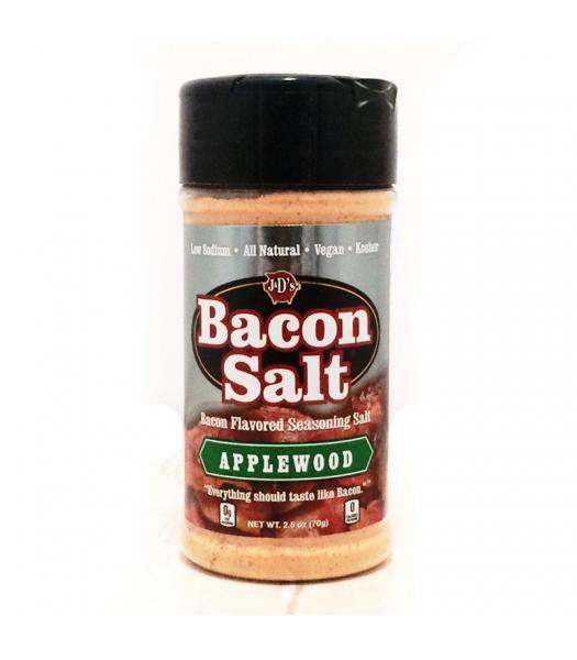 J&D's Applewood Bacon Salt - 2.5oz (70g)