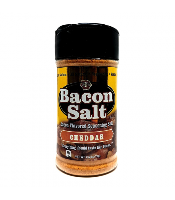 J&D's Cheddar Bacon Salt - 2.5oz (70g) Food and Groceries J&D's Bacon Salt