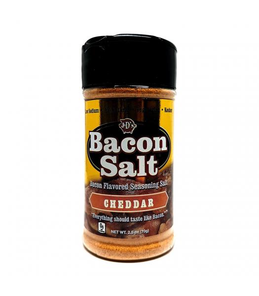 J&D's Cheddar Bacon Salt - 2.5oz (70g) Food and Groceries J&D's Bacon Salt