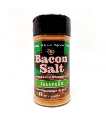 J&D's Jalapeno Bacon Salt - 2.5oz (70g) Food and Groceries 3 Musketeers