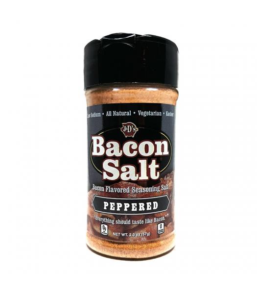 J&D's Peppered Bacon Salt - 2oz (57g) Food and Groceries J&D's Bacon Salt