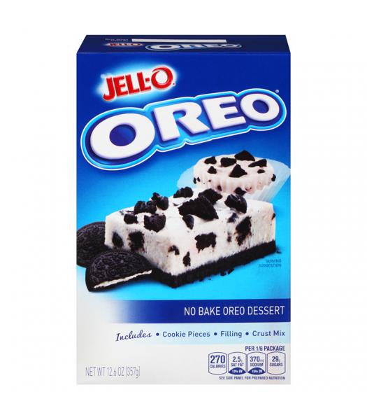Jell-O No Bake Dessert Oreo Cookies n Crème 12.6oz (357g) Jelly & Puddings Jell-O