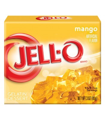 Jell-O - Mango Gelatin Dessert - 3oz (85g) Jelly & Puddings Jell-O