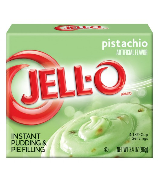 Jell-O - Pistachio Instant Pudding - 3.4oz (96g) Jelly & Puddings Jell-O
