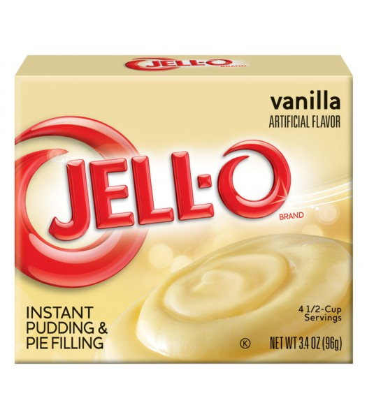 Jell-O Vanilla Instant Pudding 3.4oz (96g) Jelly & Puddings Jell-O