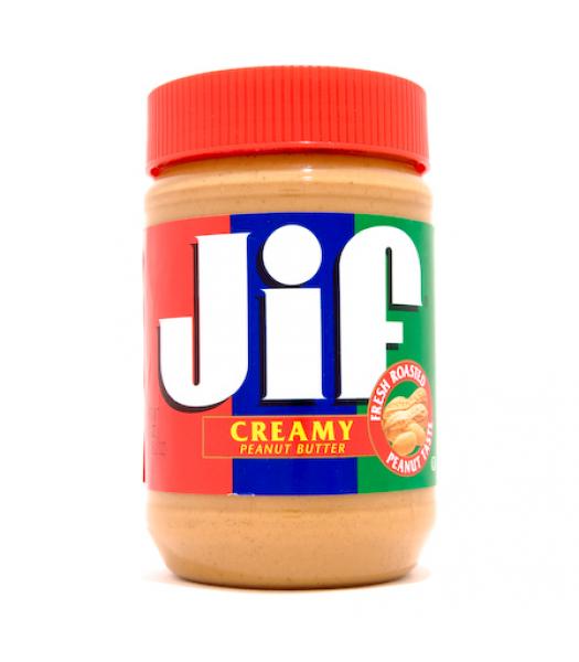 Jif Creamy Peanut Butter 16oz (454g)