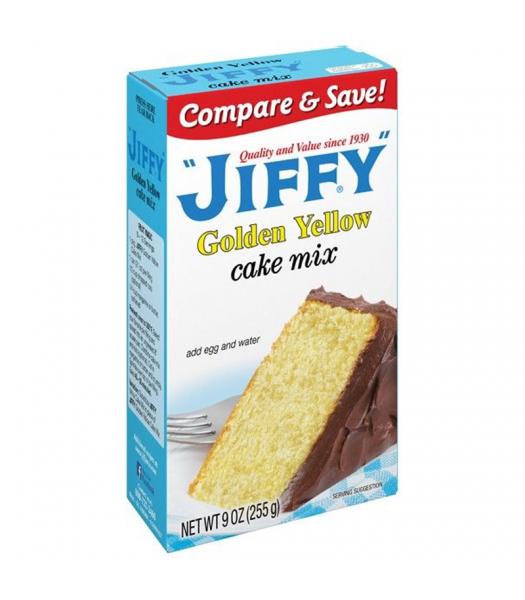 Jiffy Golden Yellow Cake Mix 9oz (255g) Food and Groceries Jiffy