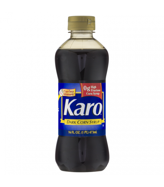 Karo Dark Corn Syrup (Blue Label) - 16fl.oz (473ml) Food and Groceries