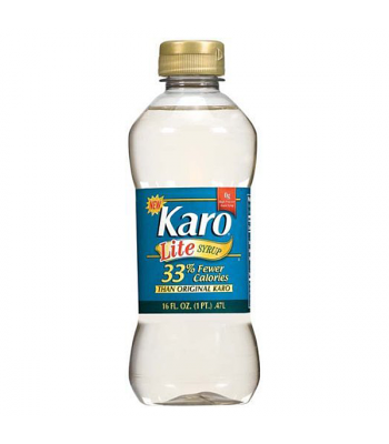 Karo Lite Corn Syrup 16oz (473ml) Food and Groceries