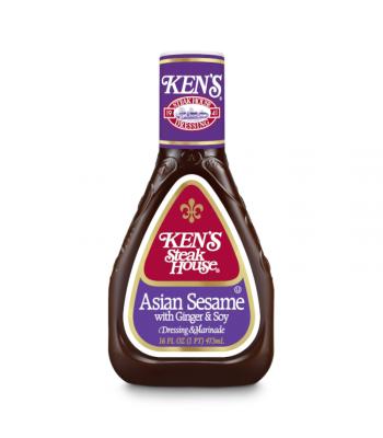 Ken's Asian Sesame Dressing - 16oz (473ml) Food and Groceries Ken's
