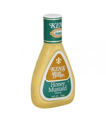 Ken's Steak House - Honey Mustard Dressing - 16fl.oz (473ml) Food and Groceries