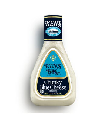 Ken's Steak House - Chunky Blue Cheese Dressing 16fl.oz (473ml) Food and Groceries Ken's