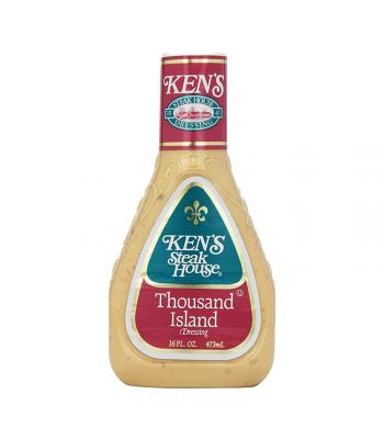 Ken's Steak House - Thousand Island Dressing - 16fl.oz (473ml) Food and Groceries Ken's
