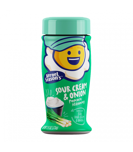 Kernel Season's Sour Cream Onion Seasoning - 2.85oz (80g) Food and Groceries Kernel Season's