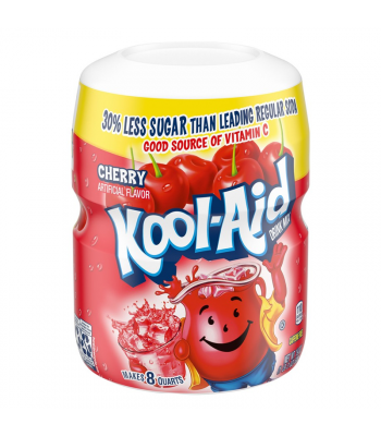 Kool Aid Cherry Drink Mix Tub - 19oz (538g) Drink Mixes Kool Aid