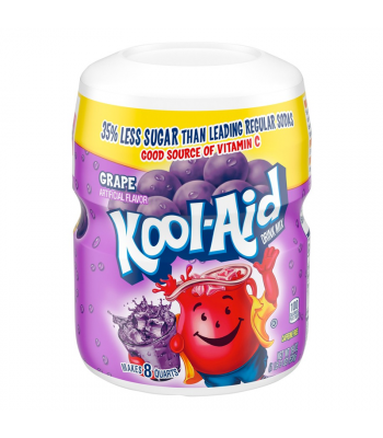 Kool Aid Grape Drink Mix Tub - 19oz (538g) Soda and Drinks Kool Aid
