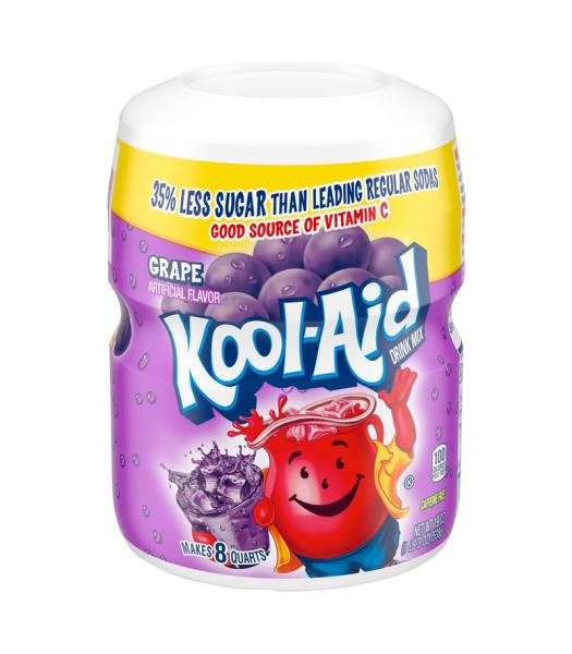 Kool Aid Grape Drink Mix Tub - 19oz (538g) Soda and Drinks Kool Aid